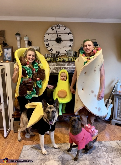 Avocado Theme Costume