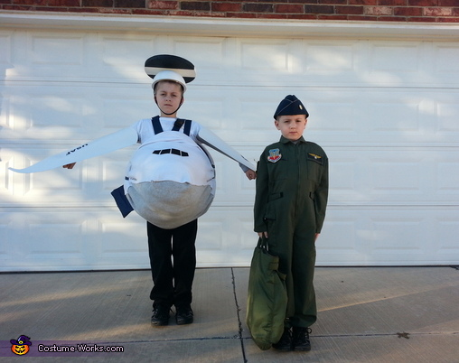 AWACS and Air Battle Manager Homemade Costume