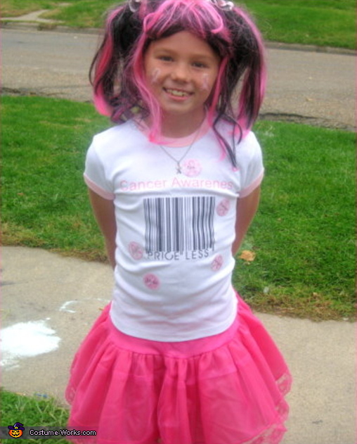 Brest Cancer Awareness Costume