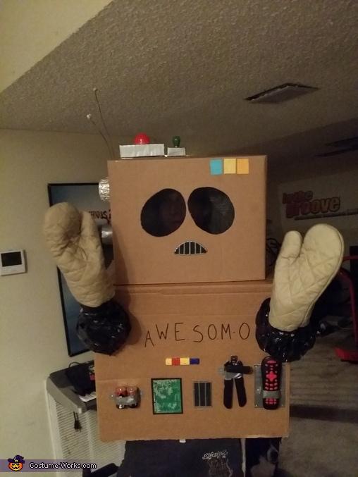 A.W.E.S.O.M.-O Homemade Costume
