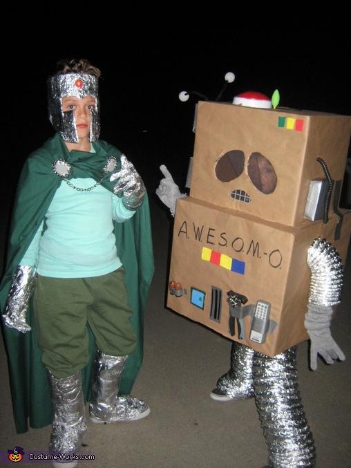 AWESOM-O & Professor Chaos Costumes