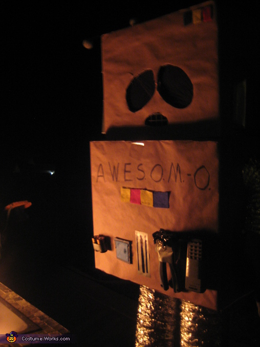 AWESOM-O, AWESOM-O & Professor Chaos Costumes