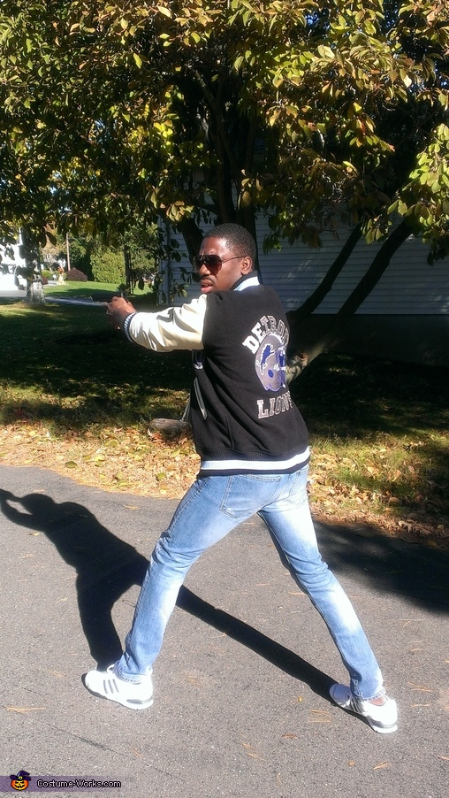 Axel Foley Movie pose, Axel Foley Costume
