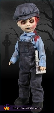 Axel is a GREAT COPY of a Living Dead Doll, as seen here, Living Dead Doll Costume