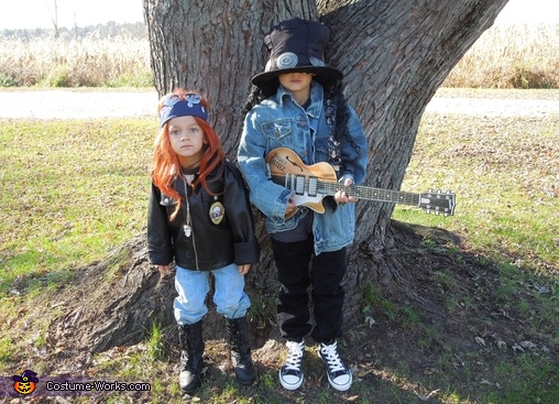 Axl & Slash, Axl and Slash Costumes