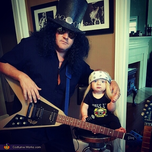 Axl and Slash Costume