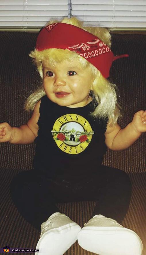 Axl Rose Baby Costume