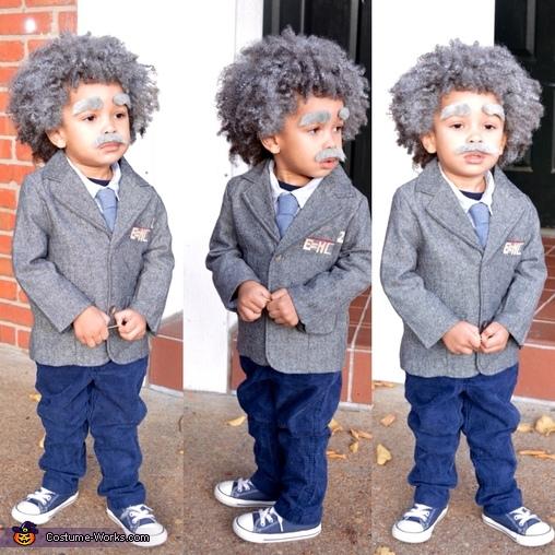 Baby Albert Einstein Costume