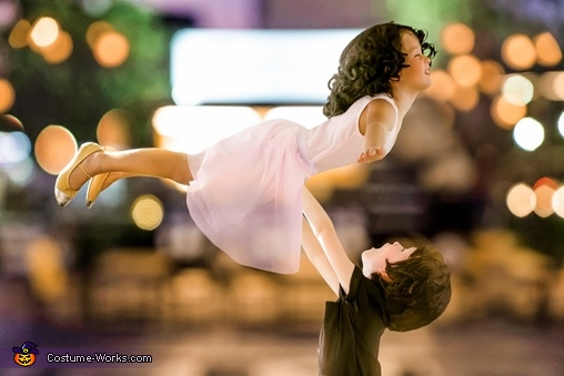 Baby and Johnny Dirty Dancing Homemade Costume