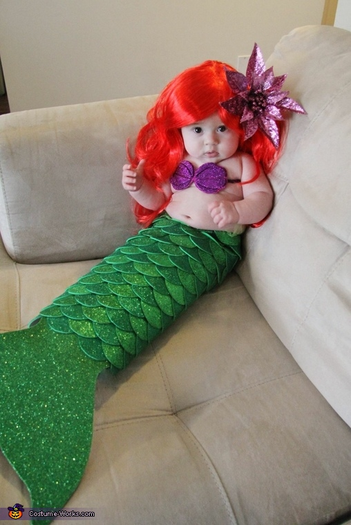 Baby Ariel Costume