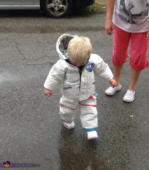 Baby Astronaut Homemade Costume