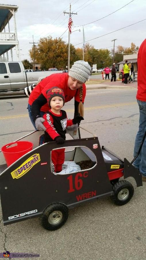 Baby B Mod Race Car Driver Costume Photo 3 8
