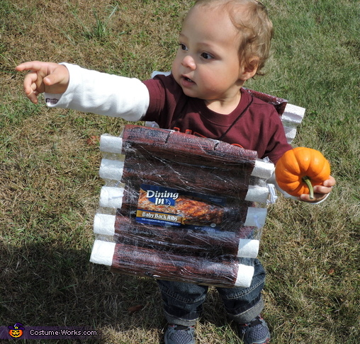 Baby Back Ribs Costume