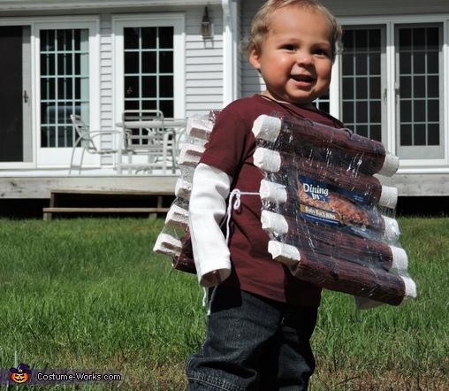 Baby Back Ribs Homemade Costume