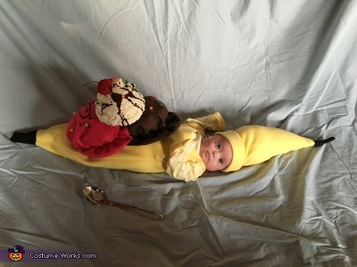 Baby Banana Split Costume