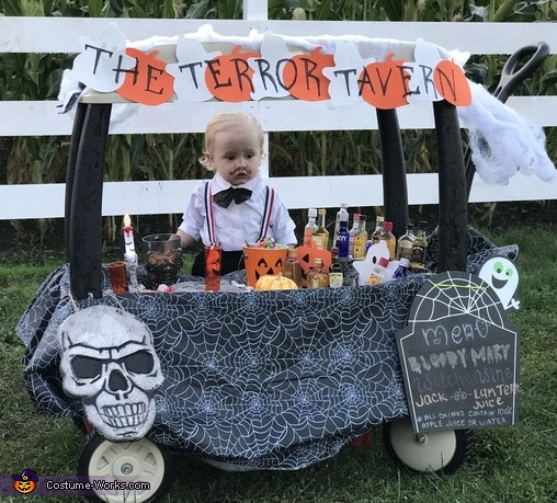 Liam the Baby Bartender Costume