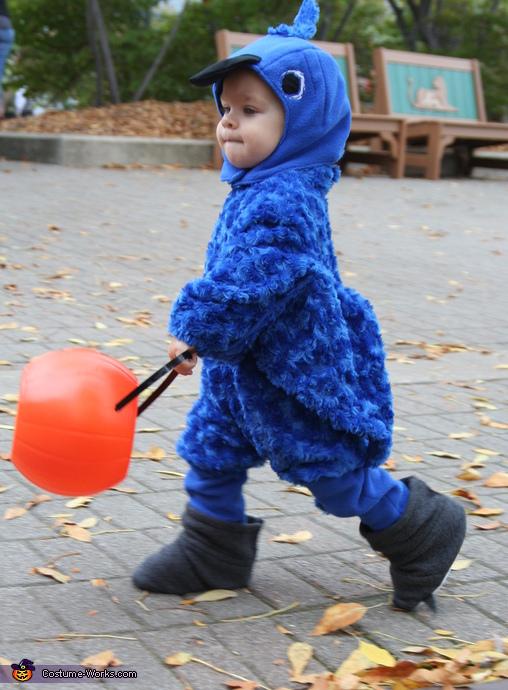 Baby Blue Macaw Costume