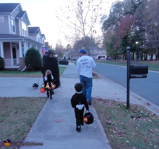 Baby Boo Family Costume