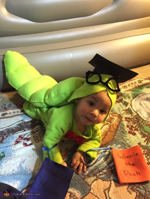 Reading is FUNdamental, Baby Bookworm Costume