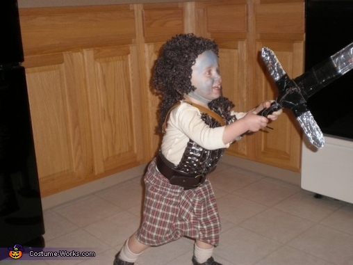 Baby Braveheart Costume