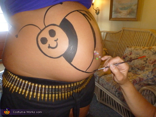 Busy Bee, Baby Bumble Bee Pregnancy Costume