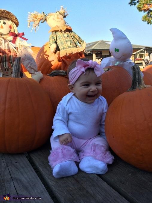 Giavanna's first Halloween, Baby Bunny Costume