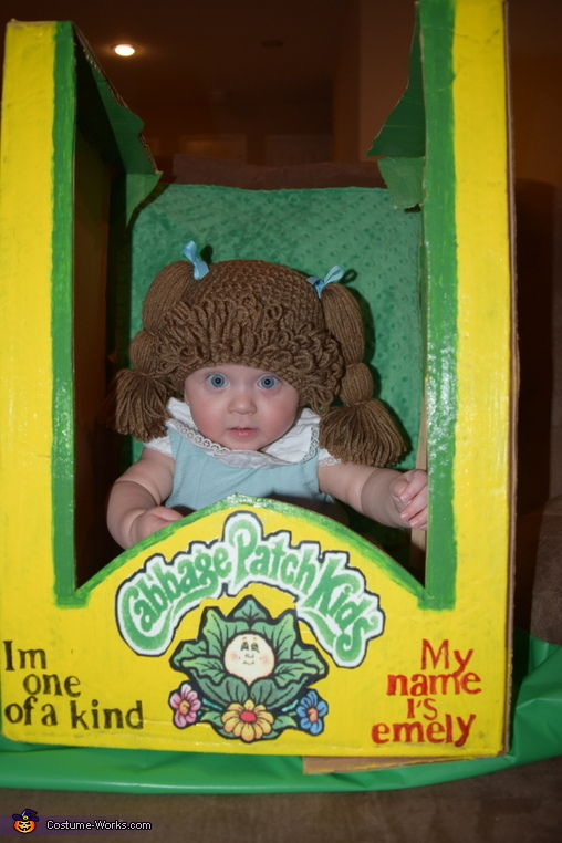 Cutest Baby Cabbage Patch Doll Costume