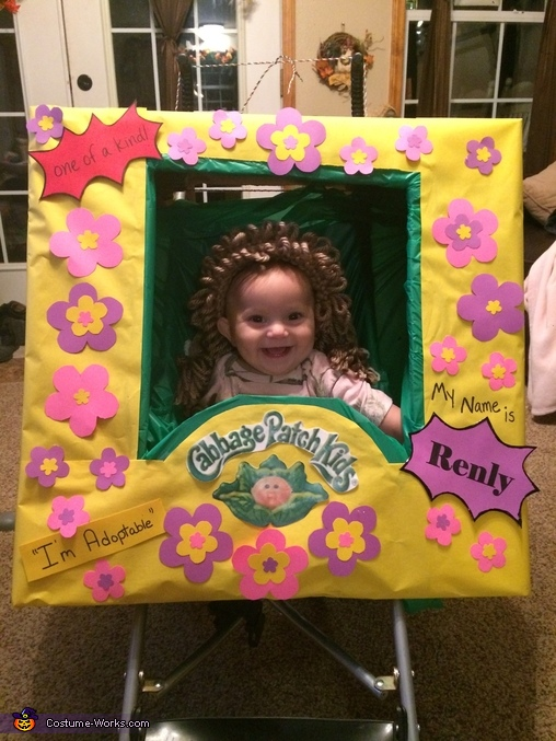 Baby Cabbage Patch Doll Costume