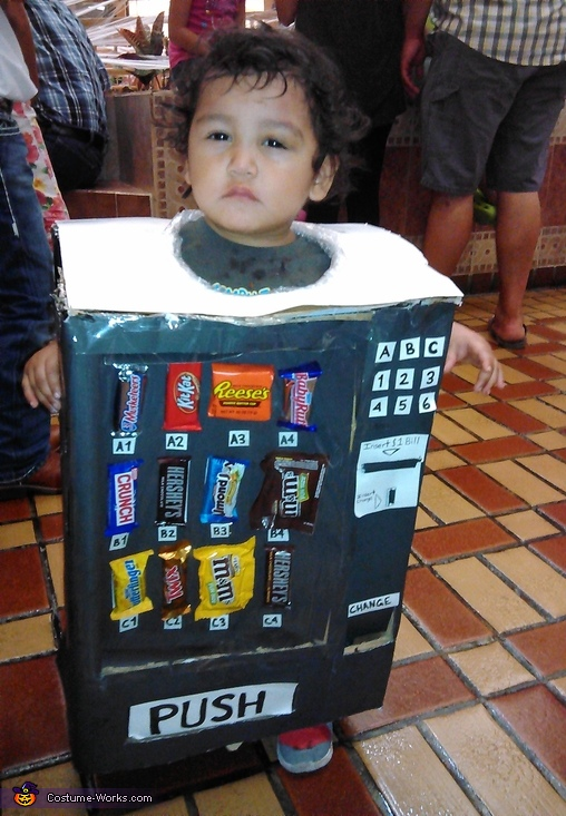 Baby Candy Machine Costume