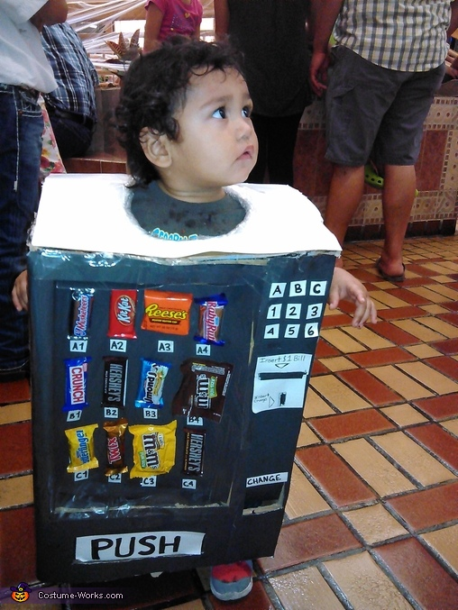 Candy Machine Baby Costume