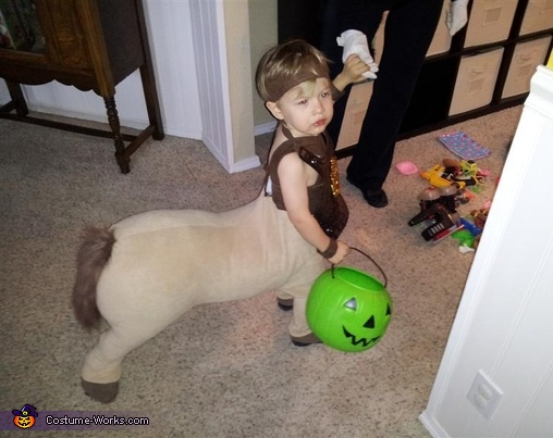 DIY Baby Centaur Costume