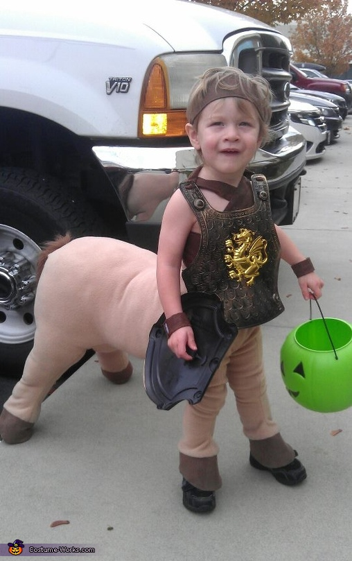 Baby Centaur - Homemade costumes for babies