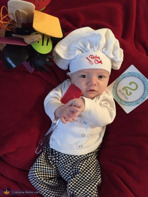 Baby Chef Homemade Costume