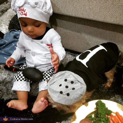Baby Chef and his secret ingredient, Baby Chef Costume
