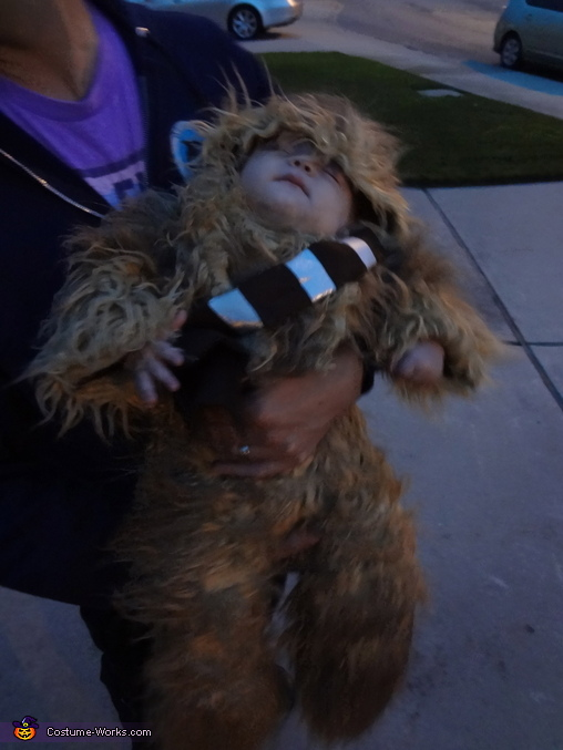 Sleepy wookie, Baby Chewbacca Costume