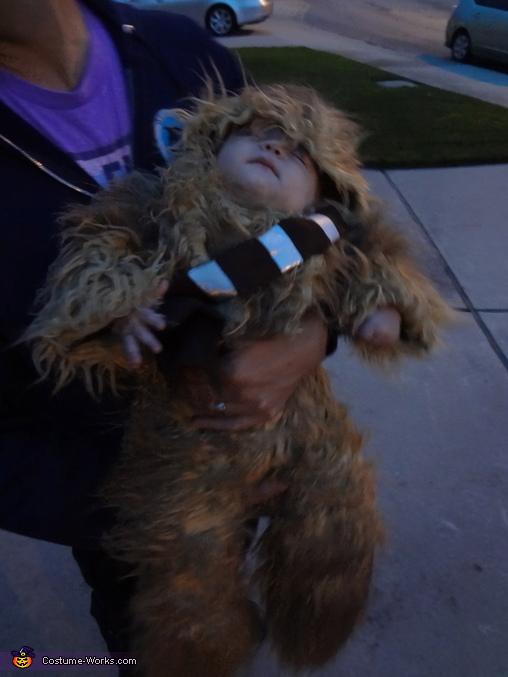 Sleepy wookie, Baby Chewbacca Costume