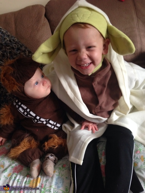 Chewbacca and Yoda, Baby Chewbacca Costume