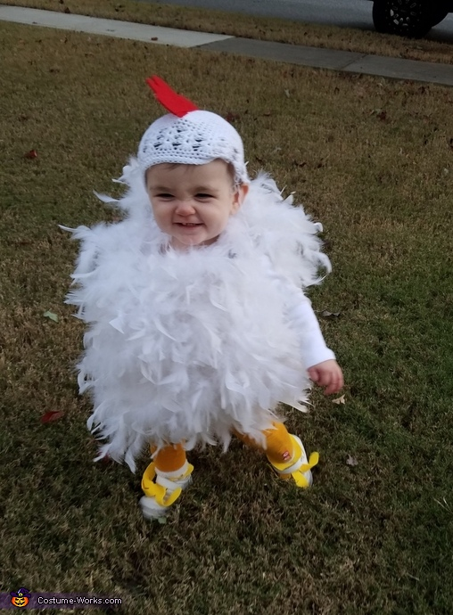 Cutest chick in the barn, Baby Chick Costume