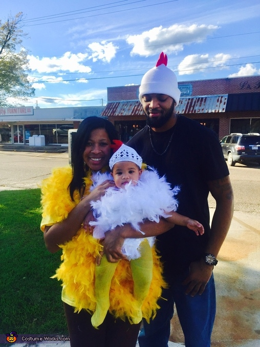 Baby Chick and Chick Family Costume