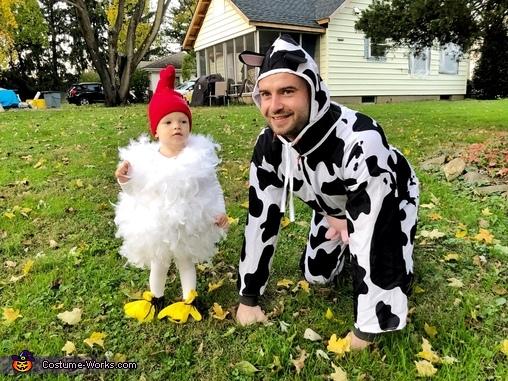My farm :), Baby Chicken Costume