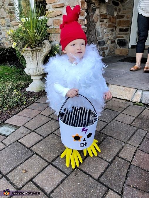 Trick or treat, Baby Chicken Costume