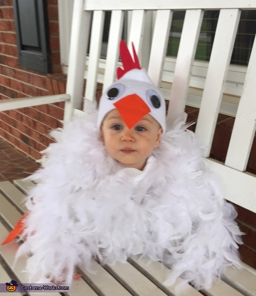 Baby Chicken Homemade Costume