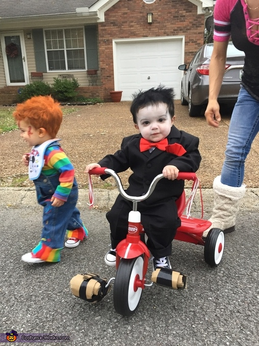 Chucky and incomplete Jigsaw, Baby Chucky Costume