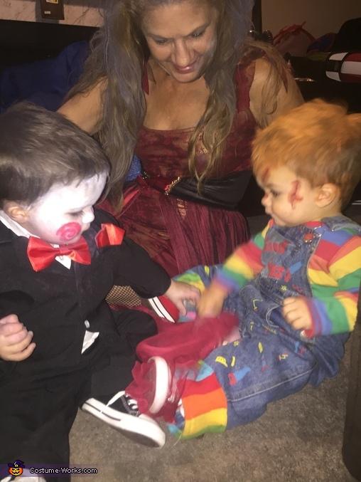 Chucky and Jigsaw BFFs, Baby Chucky Costume