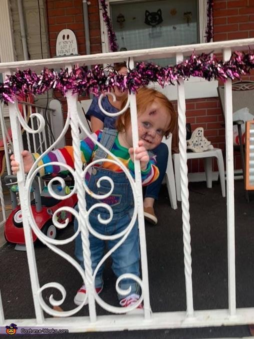 Baby Chucky Homemade Costume