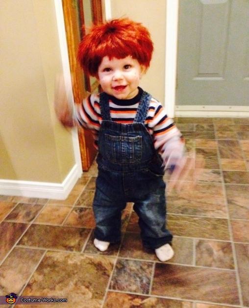 Baby Chucky DIY Costume