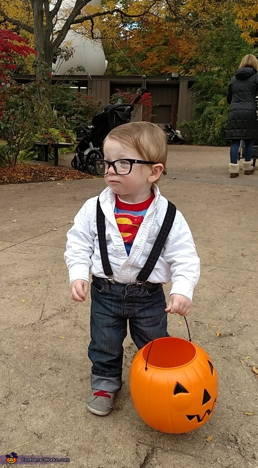 Hmmm....what next?, Baby Clark Kent Costume