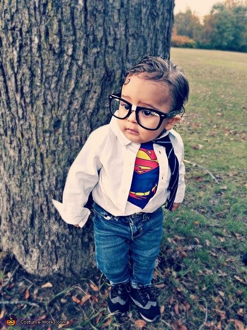 Maddox as Baby Clark Kent, Baby Clark Kent Costume