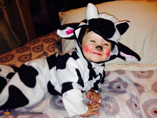 Baby Cow Costume & Cute Baby Cow Costume