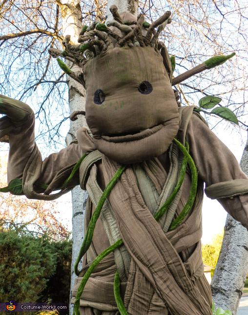 Baby Groot Face, Baby Dancing Groot Costume